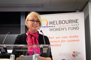 Guest Speaker Lord Mayor Sally Capp